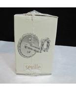 ONE HOOK ~ NOS Vintage Seville Robe Towel Hook Crochet Made in USA Twist... - $19.95
