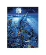 Master Pieces Dolphin Reef 550 Piece Jigsaw Puzzle - $19.74