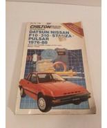 Chilton Repair Manual Datsun/ Nissan 1976-1988 - $7.91