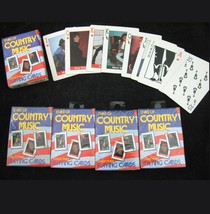 Vtg New Stars of Country Music Playing Card Deck 1x USA Flag Hoyle 1995 SEALED - $7.91