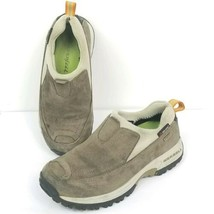 Merrell Polar Tec Womens Size 5.5 Shoes Moccasins  Waterproof Taupe Slip... - $27.62