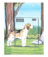 $$ wholesale$$ CENTRAL AFRICA 1999 DOGS  S/S MNH ANIMALS - £1.86 GBP