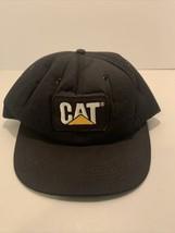 Vintage CATERPILLAR Foam Hat Made in USA Tomkin BRAND CAT - $11.86