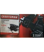 """Craftsman 51856 6"""" Swivel Bench Vise with 6 1/4"""" Jaw Opening & Anvil No.9 - $107.91"""