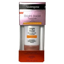 NEW Neutrogena Bright Boost Moisturizer with Broad Spectrum SPF 30 Sunscreen - $4.88