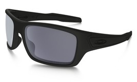 Hot New Authentic Oakley Sunglasses OAKLEY TURBINE Matte Black/Grey OO9263-07 - $134.60