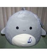 """Squishmallows GORDON Shark 12""""H Plush NWT - $18.88"""