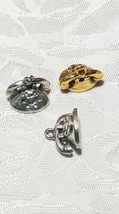 DESKTOP ROTARY TELEPHONE FINE PEWTER CHARM image 1
