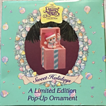 "1994 Precious Moments ""Sweet Holidays"" Pop up Christmas Ornament [Brand New] - $14.87"
