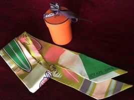 """Hermes Twilly Scarf - Sea, Surf and Fun - """"Kelly"""" - $200.00"""