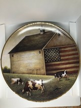 """Proud Pasture"" The Franklin Mint Collector Collector Plate LMT Edition - $11.37"