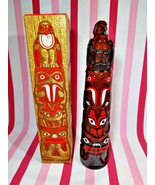 Groovy 1970's Avon Totem Pole Decanter Deep Woods After Shave + Original... - $10.00
