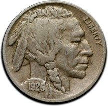 1926S Buffalo Nickel Coin Lot# A 333 image 1