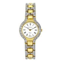 Genéve 14K Yellow Gold with Pave Set Diamonds Ladies Watch - $3,167.01