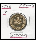 1996 J,Germany: 10 pfennig (Proof) - $1.70