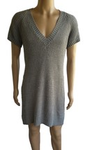 Mossimo Womens SZ XXL Knit Sweater Dress Gray Stretch - $19.19