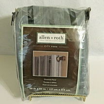 "Allen + Roth City Park Panel 1-50/84"" Slate Blue Striped Grommet 0349637  - $17.29"