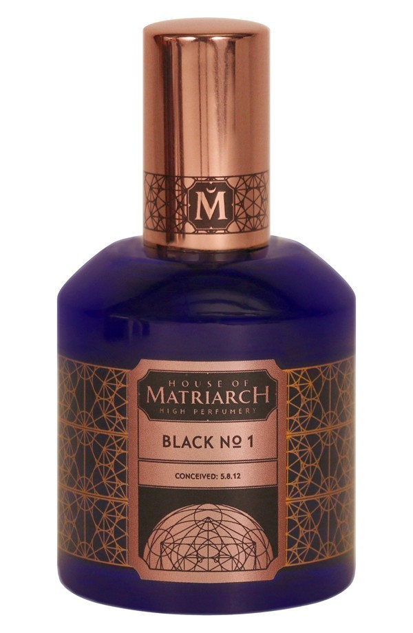 BLACK No1 by HOUSE OF MATRIARCH 5ml Travel Spray Perfume OUD SEAWEED LEATHER