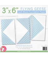 """It's Sew Emma Quilt Block Foundation Paper-3""""X6"""" Flying Geese - $17.01"""