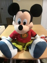 MICKEY MOUSE 2 Foot Tall  Plush Toy by Fisher-Price - $16.70