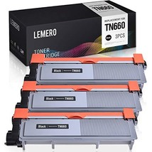 LEMERO Compatible Toner Cartridge Replacement for Brother TN660 TN630 TN-660 TN-