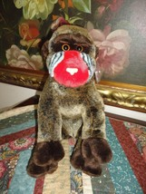 Ty Original Beanie Buddy Collection Cheeks Baboon Retired Tag and Protec... - $57.83