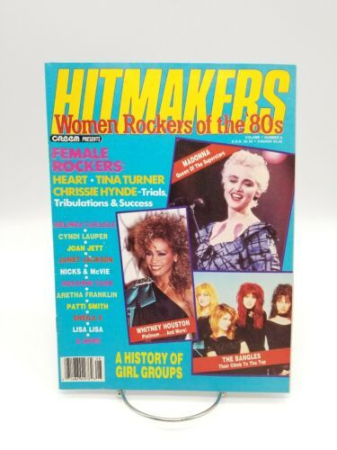 Creem Magazine Hitmakers Women Rockers of the 80s Madonna Witney Houston Bangles
