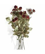 """Artificial Flowers, 22 heads 1"""" Red Roses Bouquet - $19.82"""