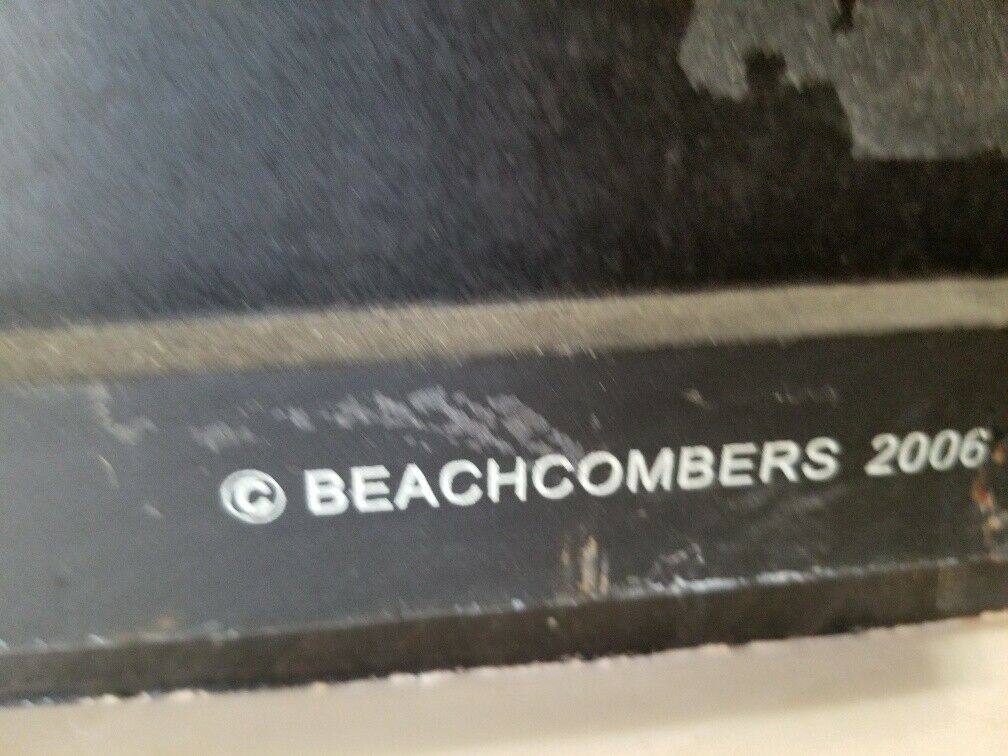 Beachcombers Surf Shack Catch A Wave 3D Arched Plaque Wall Sign Tiki Hut FS
