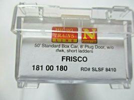 Micro-Trains # 18100180 Frisco 50' Standard Box Car 8' Plug Door N-Scale image 5