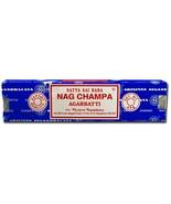 Satya Sai Baba Nag Champa Agarbatti  40 GM  Nag Champa Incense Stick  Satya - $7.50+