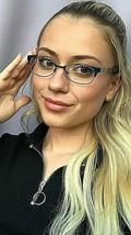 New TORY BURCH TY 4710 5830 49mm Dark Blue Women's Eyeglasses Frame - $89.99