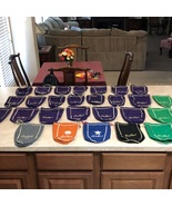Huge Crown Royal Bags Lot Rare Colors Face Masks Crafts Making Collectable - $99.99