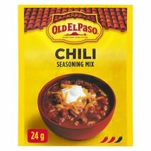 6 X Old El Paso CHILI Seasoning Mix 24g Each -Canada ALWAYS FRESH - Fast... - $19.75