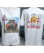 Ricochet Country Band Autographed Large White T-Shirt  - $13.75