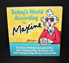 2014 Hallmark Today's World According to Maxine J. Wagner Softcover Book - $9.00