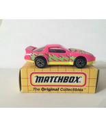 Matchbox MBX 1994 MB48 Pontiac Firebird Racer Pink Yellow Thailand - $4.20