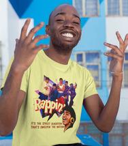 Rappin' T-shirt retro 1980's breakin' break dance hip hop movie  graphic tee image 3