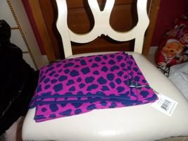 Vera Bradley Leopard Spots knit scarf wrap  NWT - $34.00