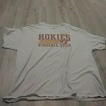 Virginia Tech VT Hokies Football Tee Shirt 2xl - $19.08
