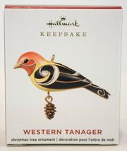 Hallmark  Western Tanager  Miniature Ornaments 2020 - $19.79