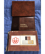 1976 Canada Olympic Stamp Souvenir Collection Volume One - Boxed - $3.55