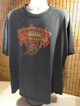 Mens Sturgis Bike Week Cotton Shirt 68th Annual Biker Motorcycle Flames ... - $16.10