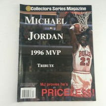 Gold Collectors Series Magazine 1996 Michael Jordan MVP Tribute, No Labe... - $14.20