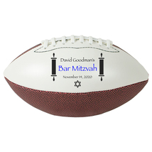 "Personalized Custom Mini 9"" Football Bar Mitzvah Gift and Centerpiece - $34.95"