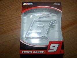 Nascar Driver Kasey Kahne #9 Clear Nine Christmas Holiday Ornament New - $12.00