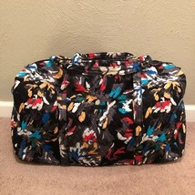 Vera Bradley Large Duffel Bag  Splash Floral Luggage Bag  - £39.04 GBP