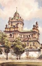 LVIV UKRAINE THE CATHEDRAL OF ST GEORGE ARTIST DRAWN POSTCARD c1962 - $5.45