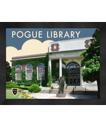 "Murray State ""Pogue Library"" 13 x 16 Art Deco Framed Print  - $39.95"