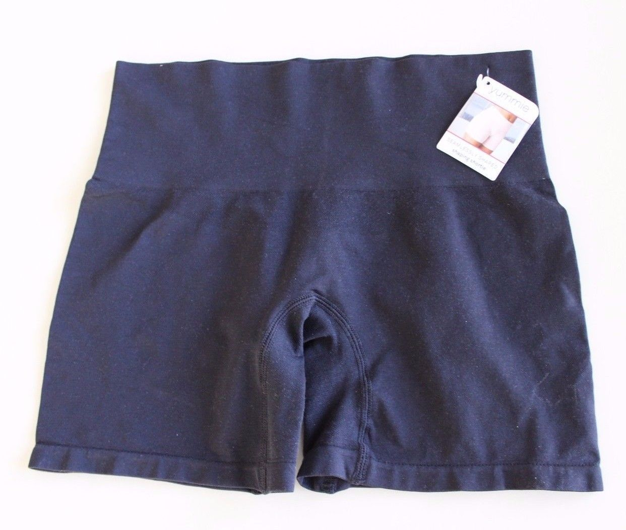 Yummie By Heather Thomson Nina Shaping Shortie Size L/XL YT5-004 BLACK - $13.83
